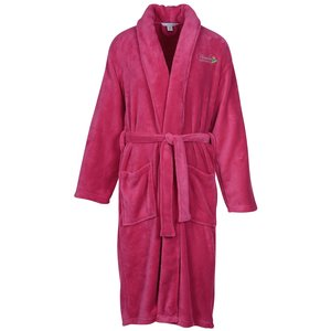 Plush Shawl Collar Robe