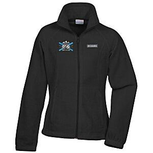 7b4e6076d21 4imprint.com  Columbia Full-Zip Fleece Jacket - Ladies  - 24 hr 6404 ...
