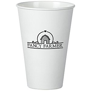 Insulated Paper Travel Cup - 16 oz. - Low Qty Main Image