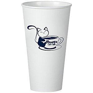 Insulated Paper Travel Cup - 20 oz. - Low Qty Main Image