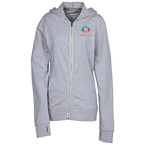 Garner Full-Zip Lightweight Hoodie - Ladies' - Full Color Main Image
