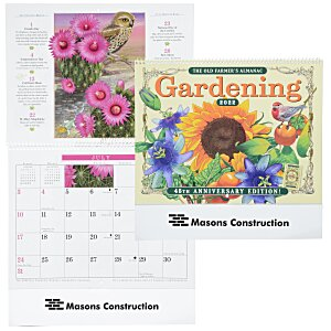 The Old Farmer's Almanac Calendar - Gardening - Spiral - 24 hr Main Image