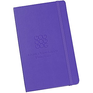 "Moleskine Hard Cover Notebook - 8-1/4"" x 5"" - Ruled - 24 hr Main Image"