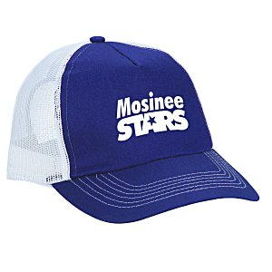 Mesh Back Trucker Cap - Screen - 24 hr Main Image