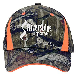 Camo Cap with Blaze Insets Main Image