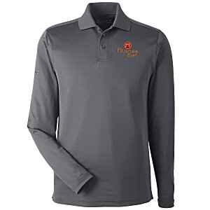 f5cf6d2cc Under Armour Performance Long Sleeve Polo - Men's - Embroidered Main Image