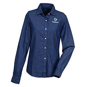 88cd576c317 4imprint.com: Hudson Denim Shirt - Ladies' 134783-L