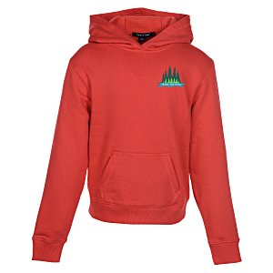 Pullover Fleece Hoodie - Youth - Embroidered Main Image