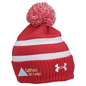 Under Armour Pom Beanie - Embroidered Main Image