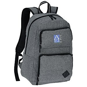 5b9e14f5fe 4imprint.com  Graphite Deluxe Laptop Backpack - Embroidered 133996-E