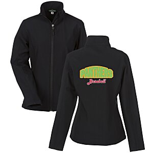 Crossland Soft Shell Jacket - Ladies' - Applique Twill Main Image
