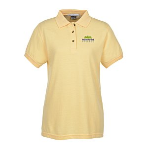 Contour 60/40 Blend Pique Polo - Ladies' Main Image