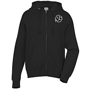 Independent Trading Co. 6.5 oz. Full-Zip Hooded Sweatshirt - Screen Main Image