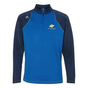 adidas Golf 1/2-Zip Pullover - Men's - Embroidered Main Image