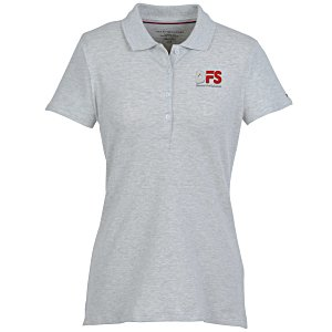 d5e02d12 4imprint.com: Tommy Hilfiger Ivy Pique Polo - Ladies' - Heather ...