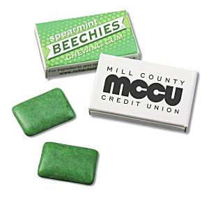 Beechies Gum - Spearmint Main Image