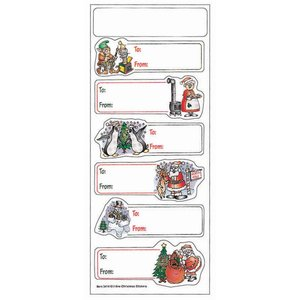Holiday Stickers - North Pole Main Image