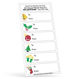 Holiday Stickers - Merry Gifts