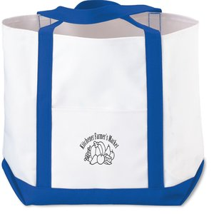 Deluxe Polyester Tote - Small