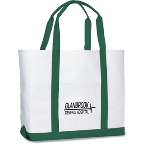 Deluxe Polyester Tote - Large Main Image