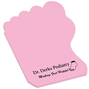 Post-it® Custom Notes - Foot - 25 Sheet