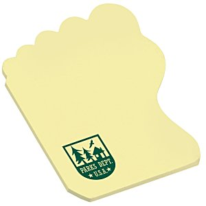 Post-it® Custom Notes - Foot - 50 Sheet Main Image