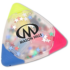 TriMark Confetti Highlighter - Star Main Image