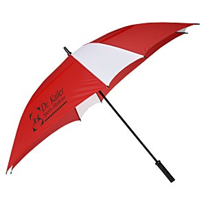"Square Vented Umbrella - 62"" Arc Main Image"