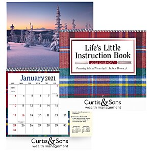Life's Little Instruction Book Appointment Calendar Main Image