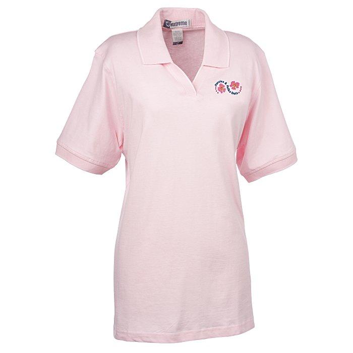 3ce6945e0c1792 4imprint.com  Extreme Shirt with Stripe Trim - Ladies  6363-L