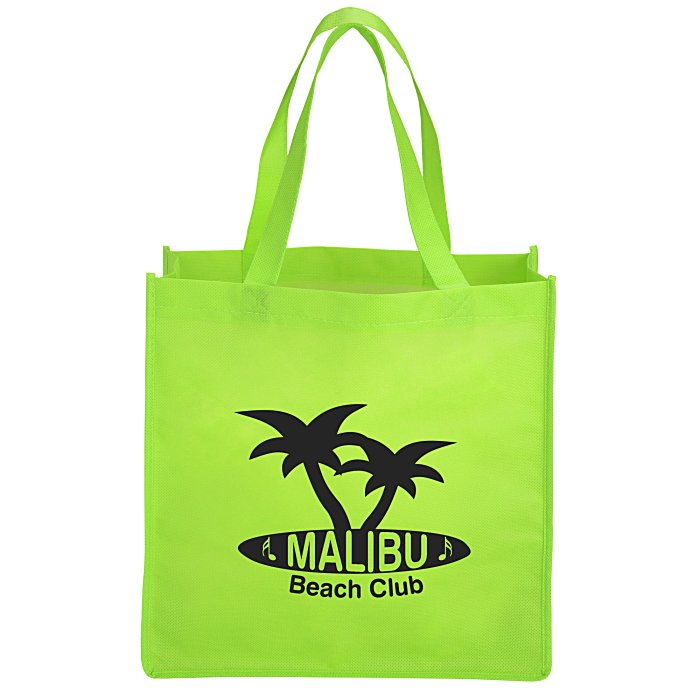 a9ce0245cc 4imprint.com  Celebration Shopping Tote Bag - 13