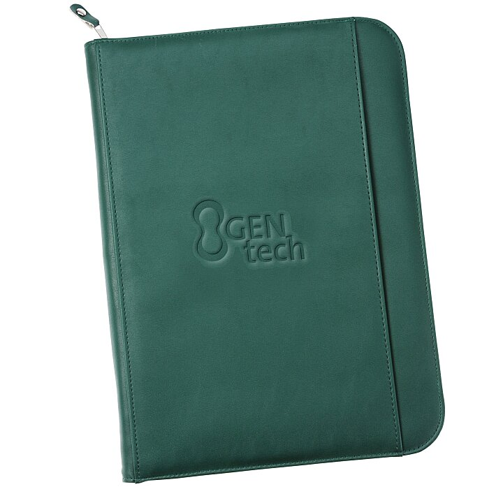 personalized leather padfolio gifts custom printed portfolios at