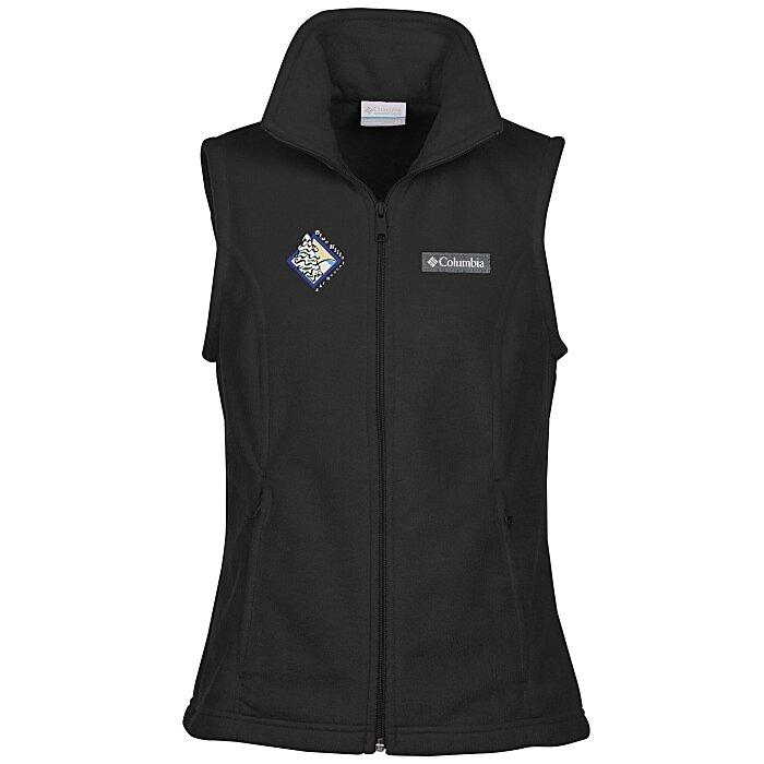 2569267b7077c2 4imprint.com  Columbia Sportswear Fleece Vest - Ladies  7968-L