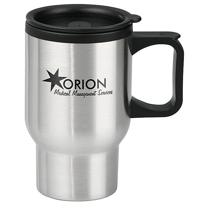 stainless steel travel mug 16 oz 8837