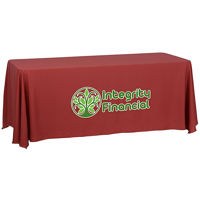 Custom Tablecloths And Table Covers For Trade Shows And Events - Conference table covers