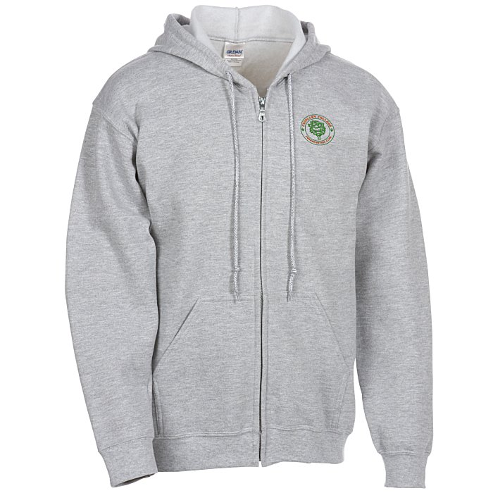 22b9b04e3 4imprint.com: Gildan Full-Zip Hoodie - Men's - Embroidered 9919-M-E