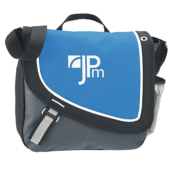 6400ef3a0e Custom and Promotional Messenger Bags Personalized with Your Logo