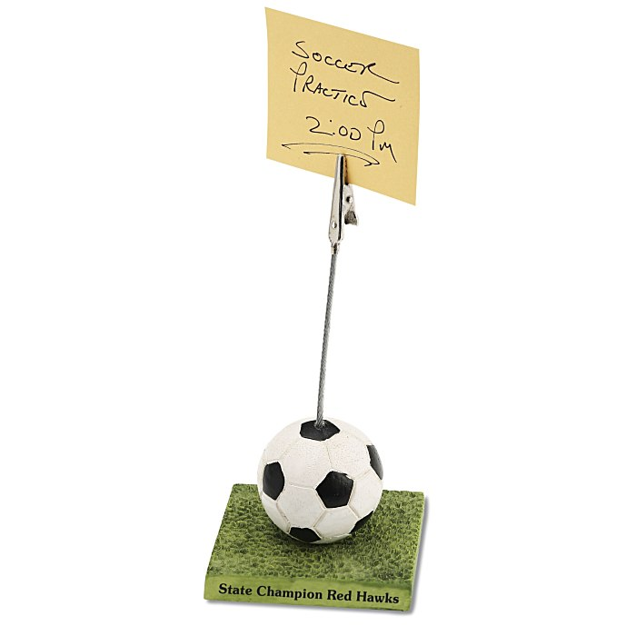 Sports Desk Accessories By Office Awards Clip Soccer