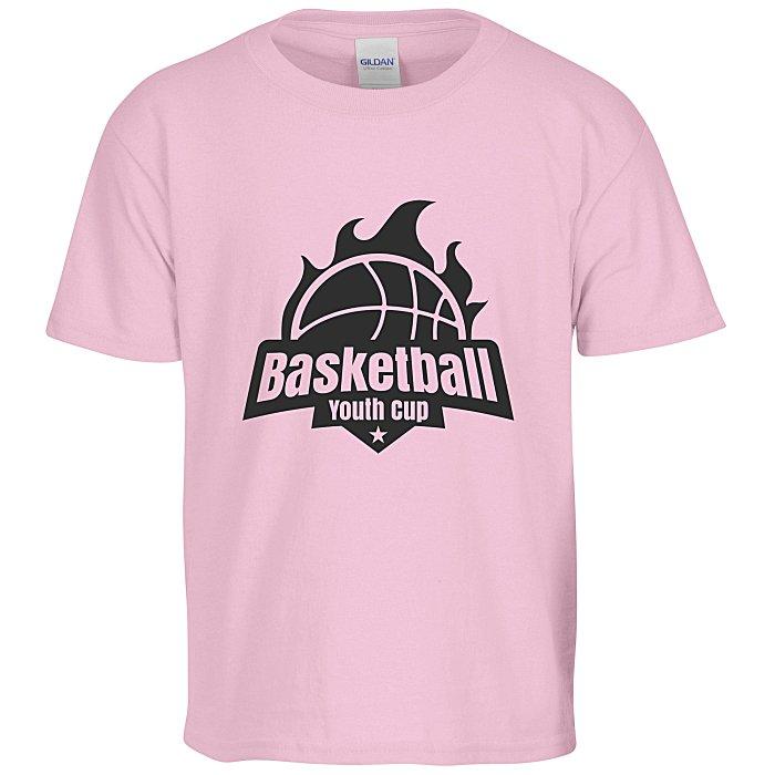 abe957e2 4imprint.com: Gildan 6 oz. Ultra Cotton T-Shirt - Youth - Screen - Colors  590-Y-S-C