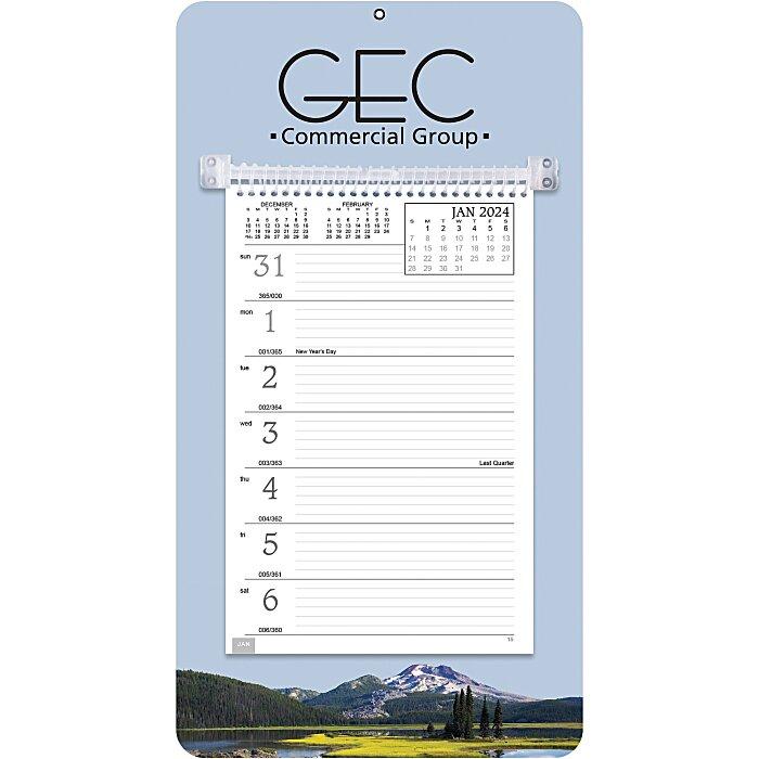 4imprint.com: Weekly Tear Away Memo Calendar - Mountain 101111-M ...