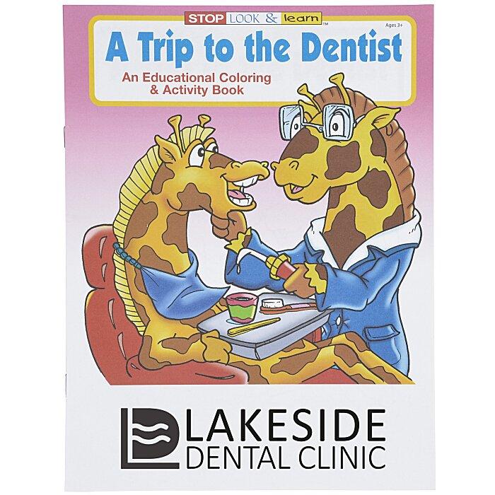 - 4imprint.com: A Trip To The Dentist Coloring Book 1034-DEN