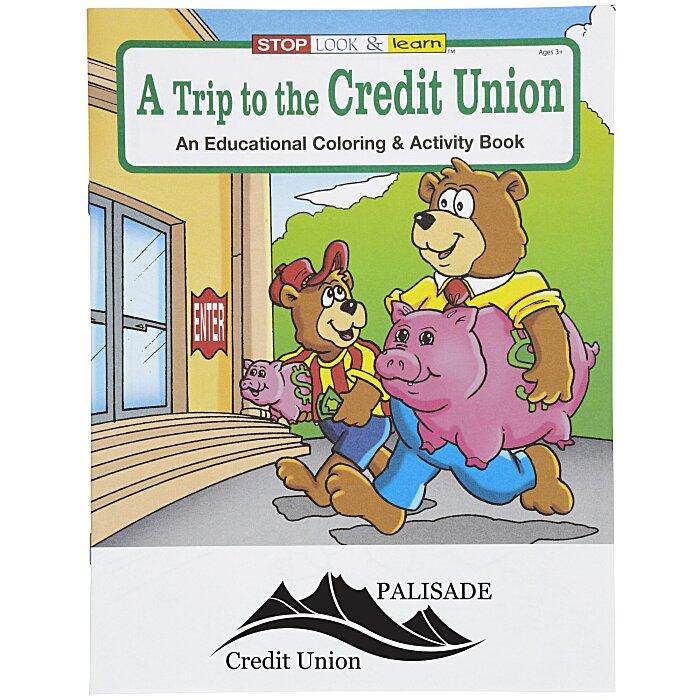 4imprint.com: A Trip to the Credit Union Coloring Book 1034-TCU