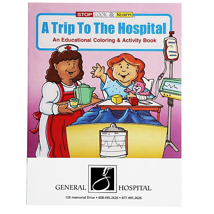 4imprint.com: A Trip To The Hospital Coloring Book 1034-TH