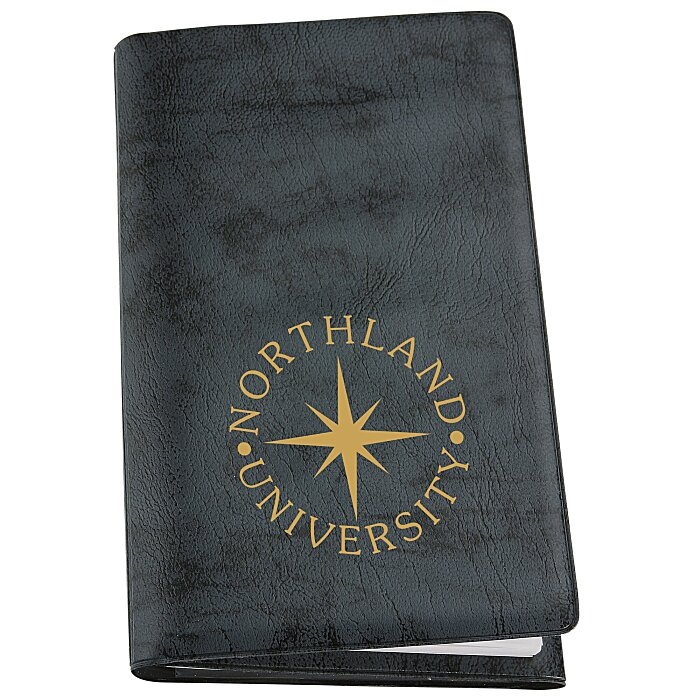 tri fold weekly planner with notepad contact book