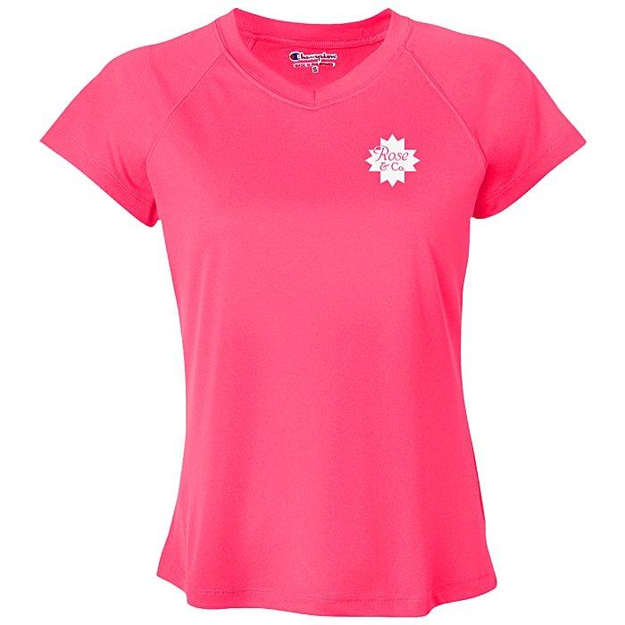 5c4e7d5046b7 4imprint.com  Champion Double Dry Performance T-Shirt - Ladies  104344-L
