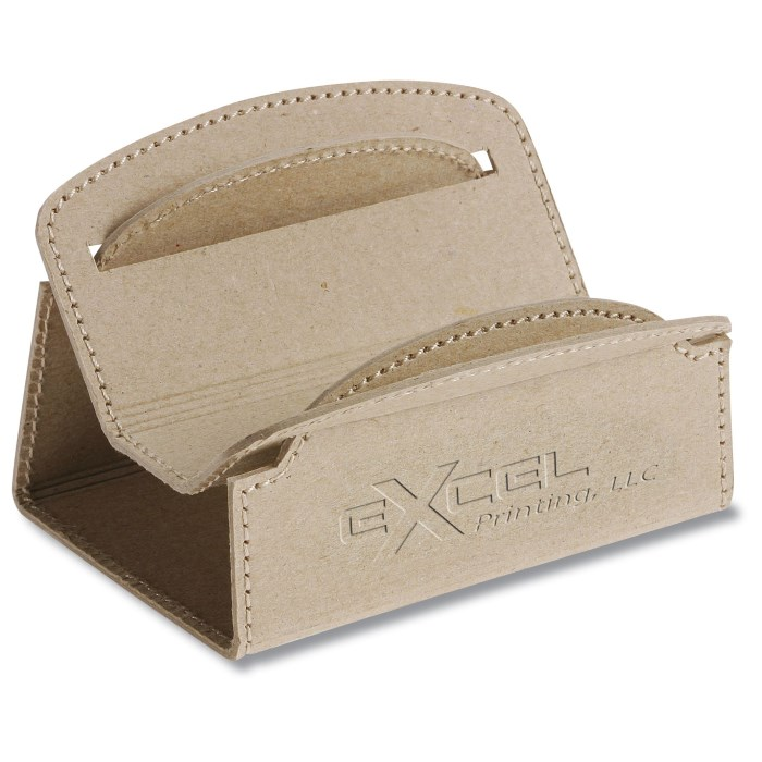 104547 is no longer available 4imprint promotional products recycled cardboard business card holder main image colourmoves