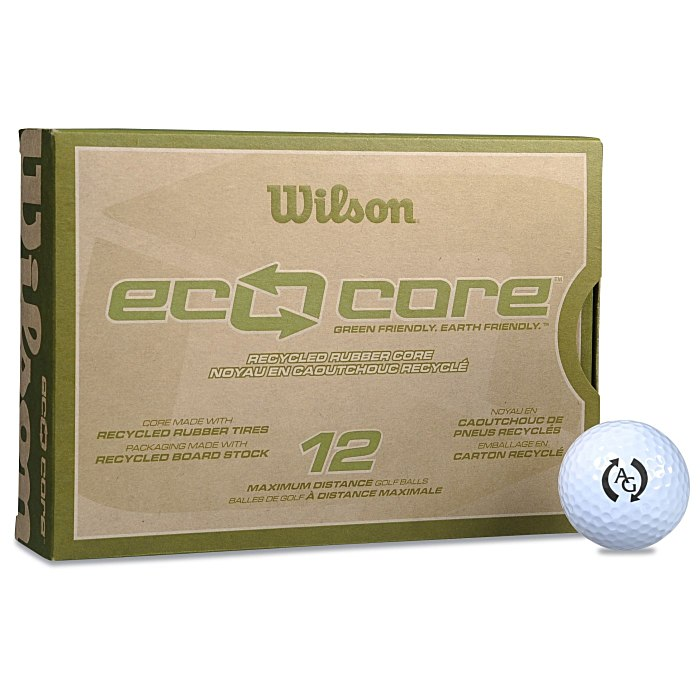 4imprint Com Wilson Eco Core Golf Ball Dozen Standard