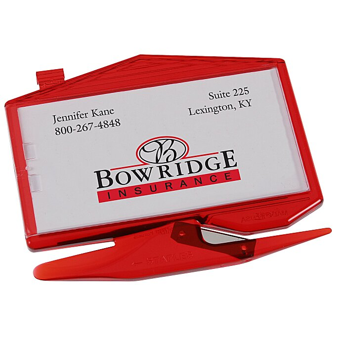 Letter Openers | Zippy Magnetic Business Card Letter Opener–House ...