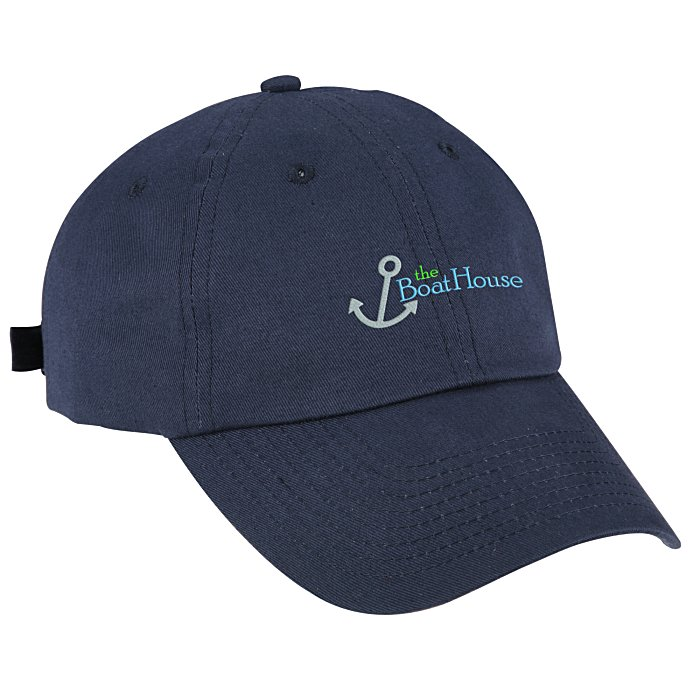 03e1f13b 4imprint.com: Brushed Cotton Twill Cap - Embroidered 105491