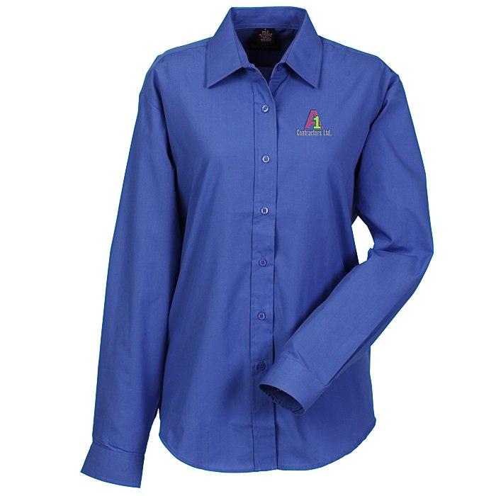 ec738f54 4imprint.com: Broadcloth Dress Shirt - Ladies' 107797-L